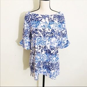 Karen Scott Short Sleeve Top Size 0X